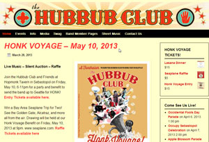 Hubbub Club Home Page