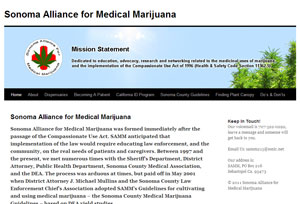 Sonoma Alliance for Medical Marijuana Home Page