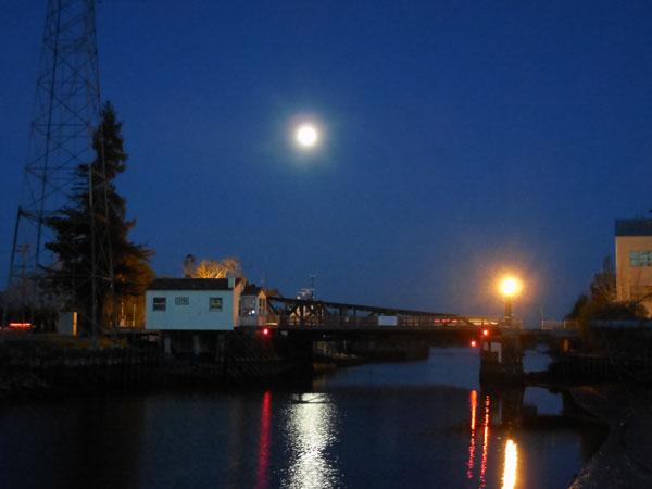 Petaluma drawbridge