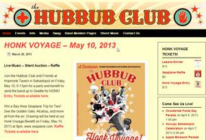 Hubbub Club Home Page